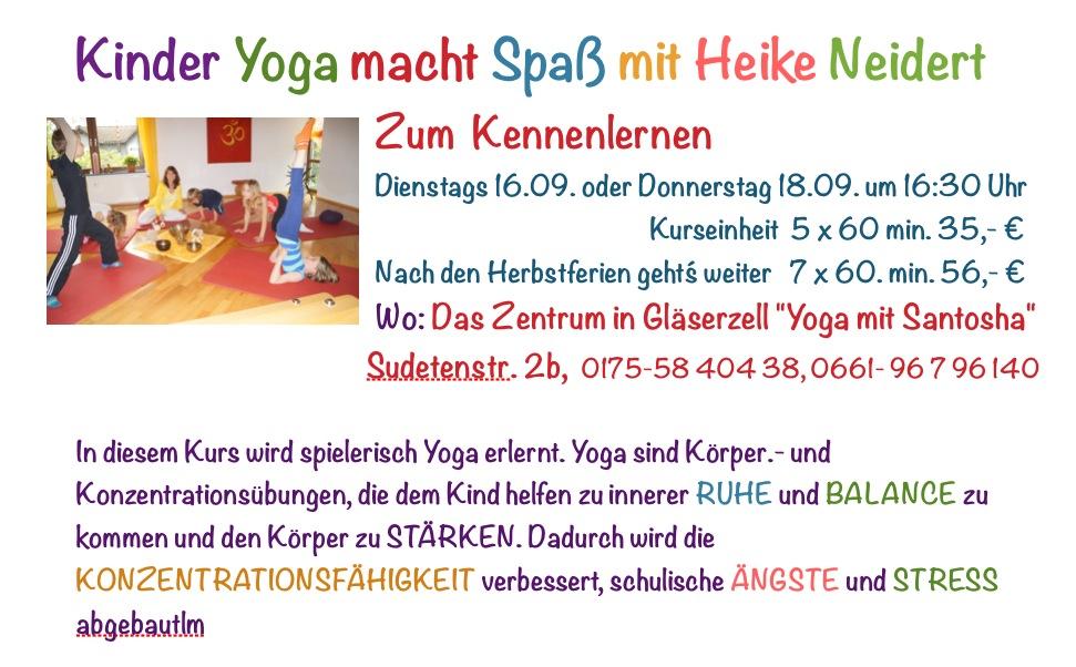 Kinder Yoga macht Spaß